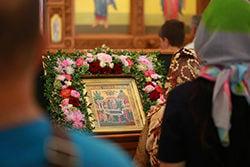 В Свято-Троицком храме отметили праздник Успения Пресвятой Богородицы